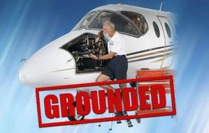 FAA Mandate Corporate Jet Grounded