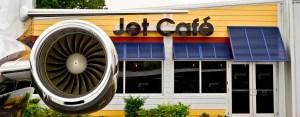 jet runway cafe jet engine photo