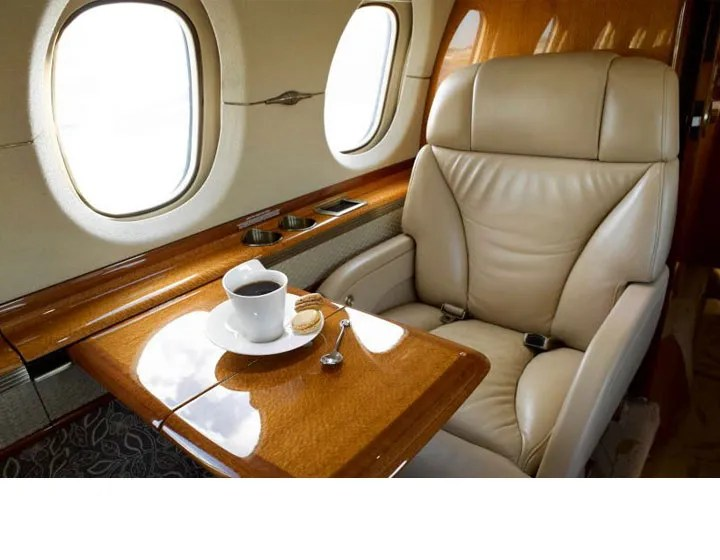 2006 Hawker 850XP executive seat