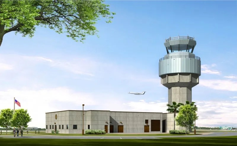 fxe airport atc tower