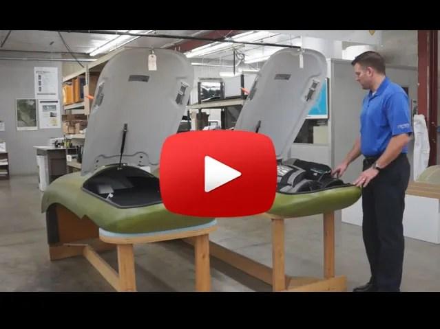 raisbeck crown wing lockers video