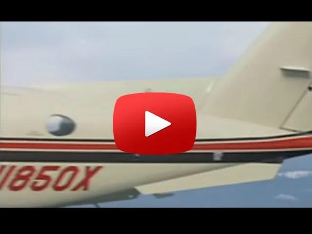 raisbeck dual aft body strakes video