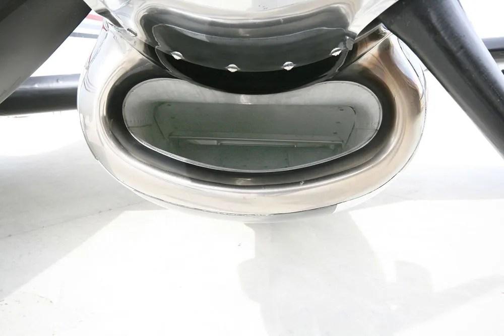 raisbeck ram air recovery system close up