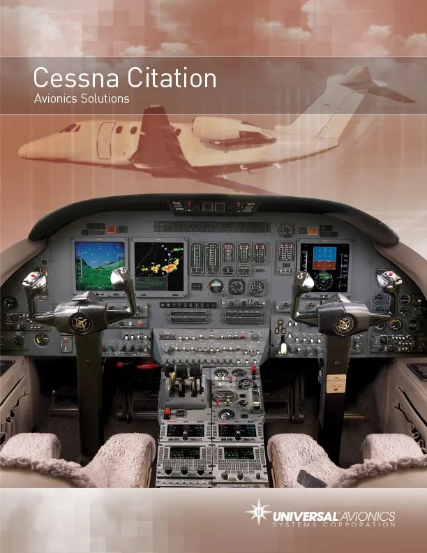 Cessna Citation brochure