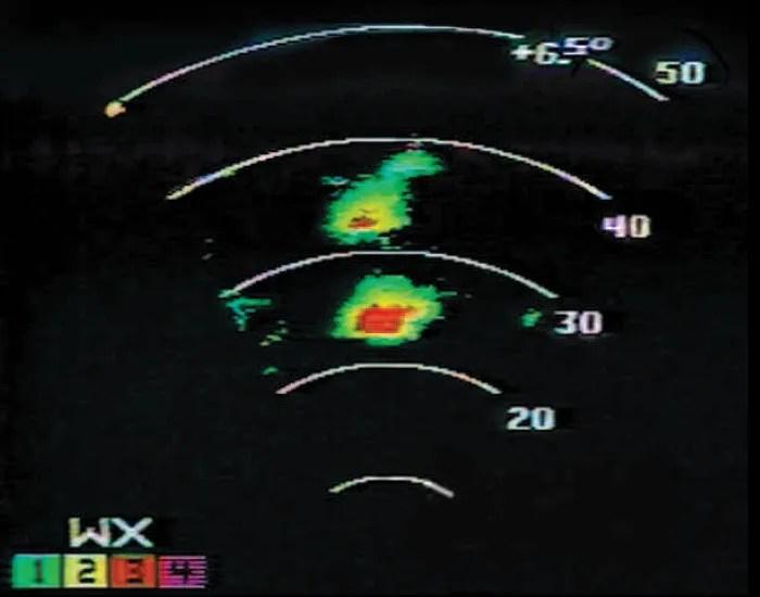 Honeywell Weather Radar screen 2