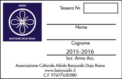 tessera 2015-2016