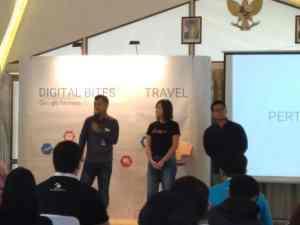 Pembicara dalam digital bites event