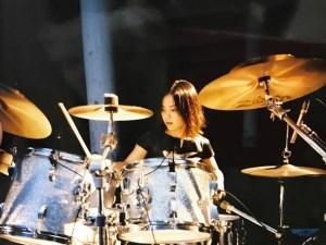 吉成ゆい_ドラム