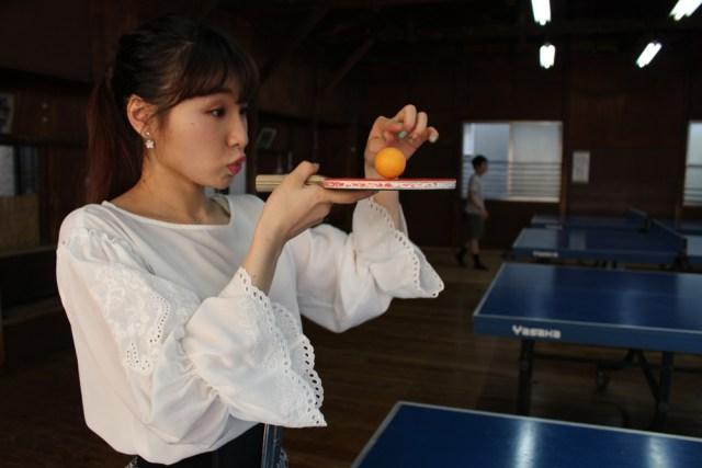 式紗彩_卓球ボール