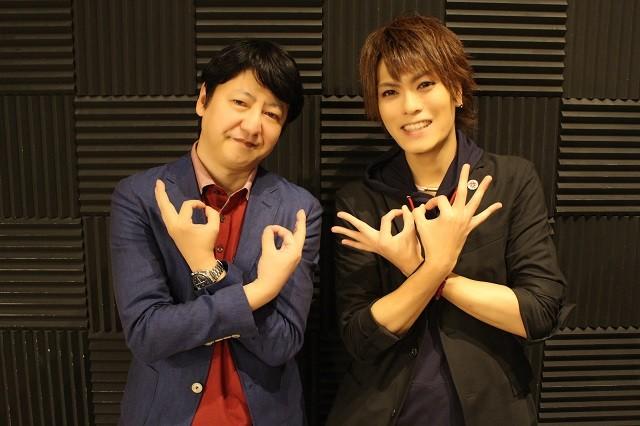 北崎拓先生(左)と江夏亜祐さん(右)