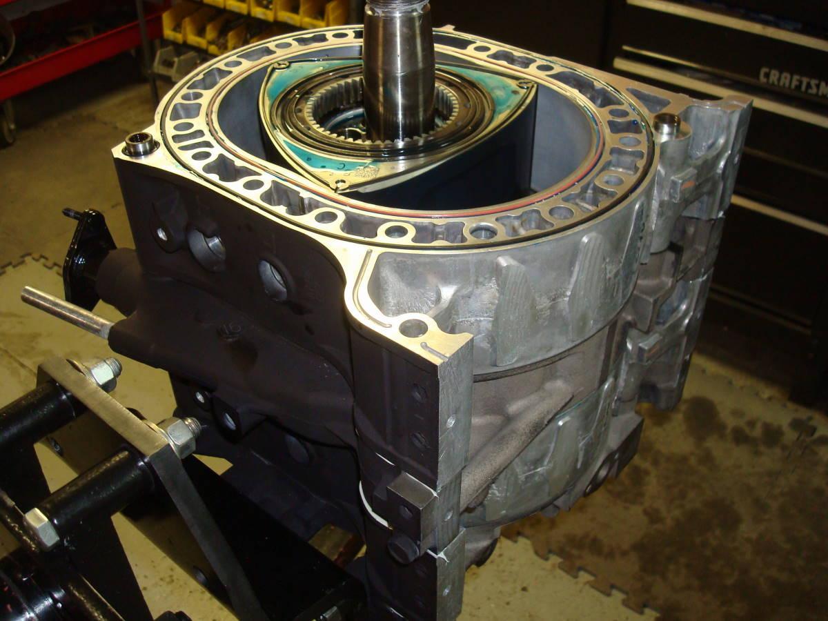 Banzai Racing 6 Port Renesis Engine Rebuild