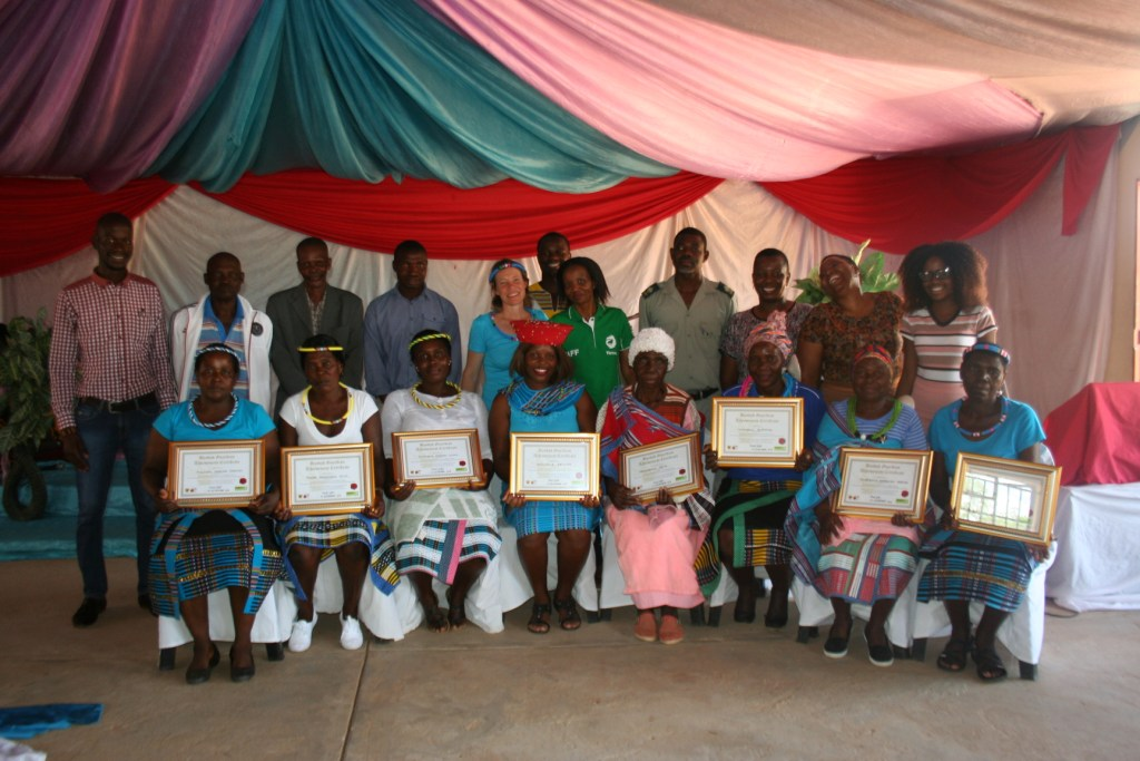 BG5 Guardians recieving certificates