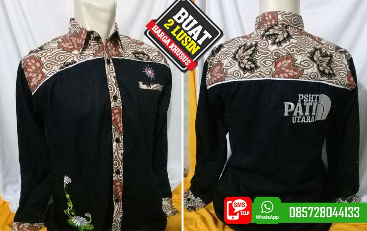 Kemeja Batik Psht Desain Model Baju Hem Kemeja Batik Psht Terbaru