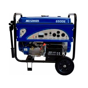 Generador 6.5 ( 6,5  KW) 110-220 VMpower con Motor 188F-2 13 HP BAP Maquinaria