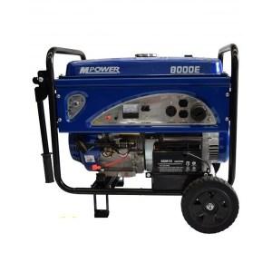 Generador 8 ( 8,000  KW) 110-220 V Mpower con Motor 15 HP BAP Maquinaria