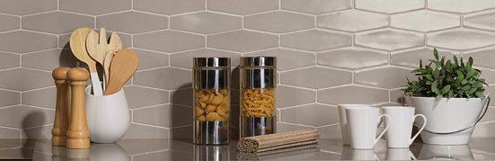 Z Collection Avanti creates a beautiful kitchen backsplash.