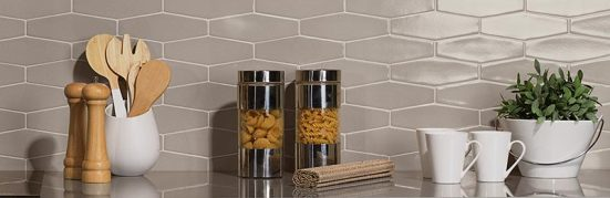 Z Collection Avanti creates a beautiful kitchen backsplash.