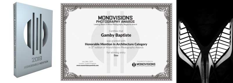 monovisionsawards contest photographie international Baptiste Gamby Architecture d'art