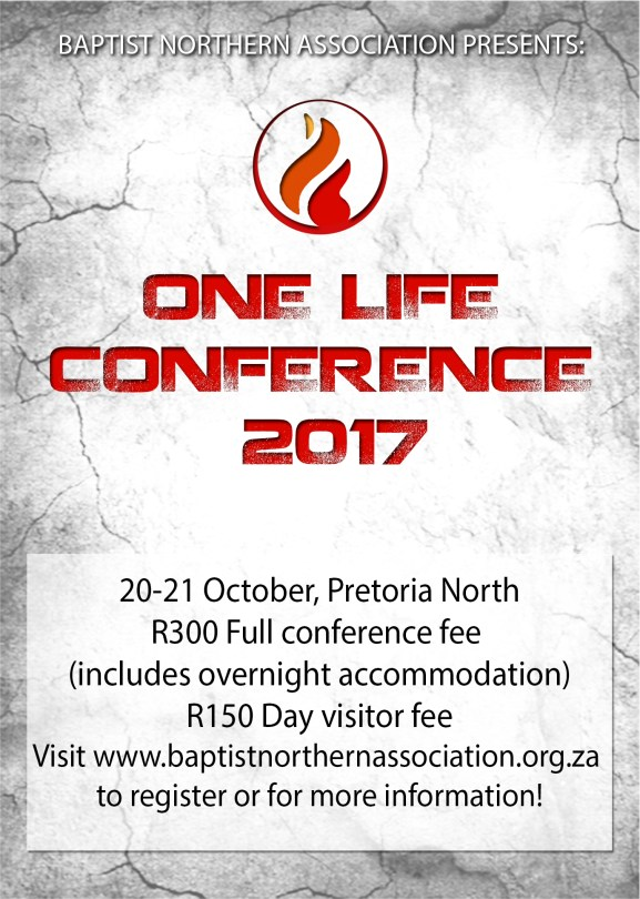 ONE LIFE CONFERENCE