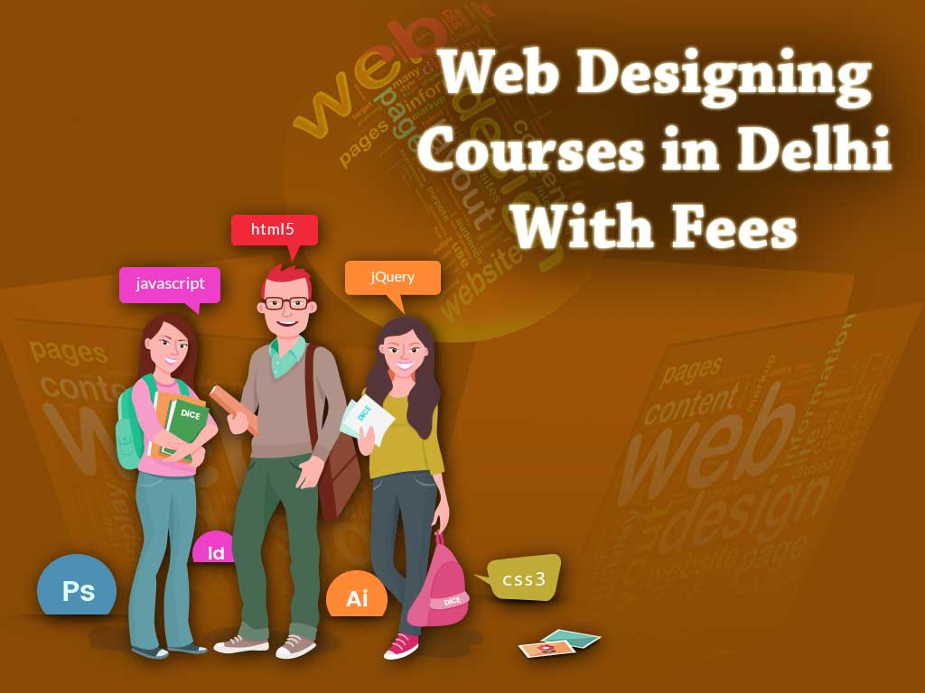Web Designing Courses in Delhi With Fees - Bapugraphics