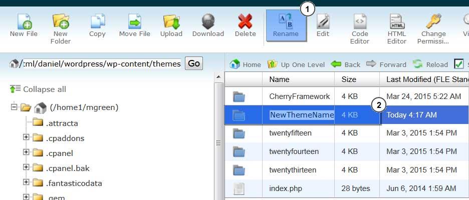 Learn How to Hide WordPress Theme Name!
