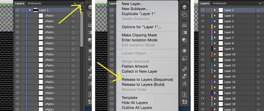 How To Use Layers In Illustrator