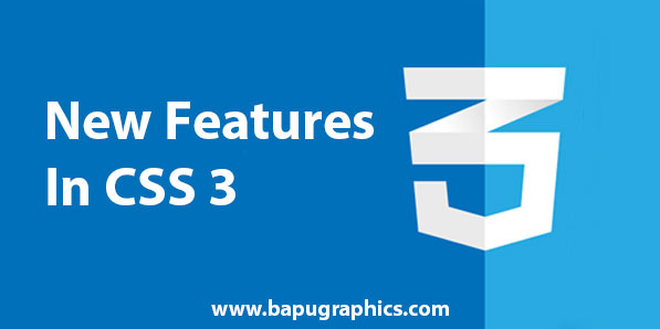 New Features in CSS 3