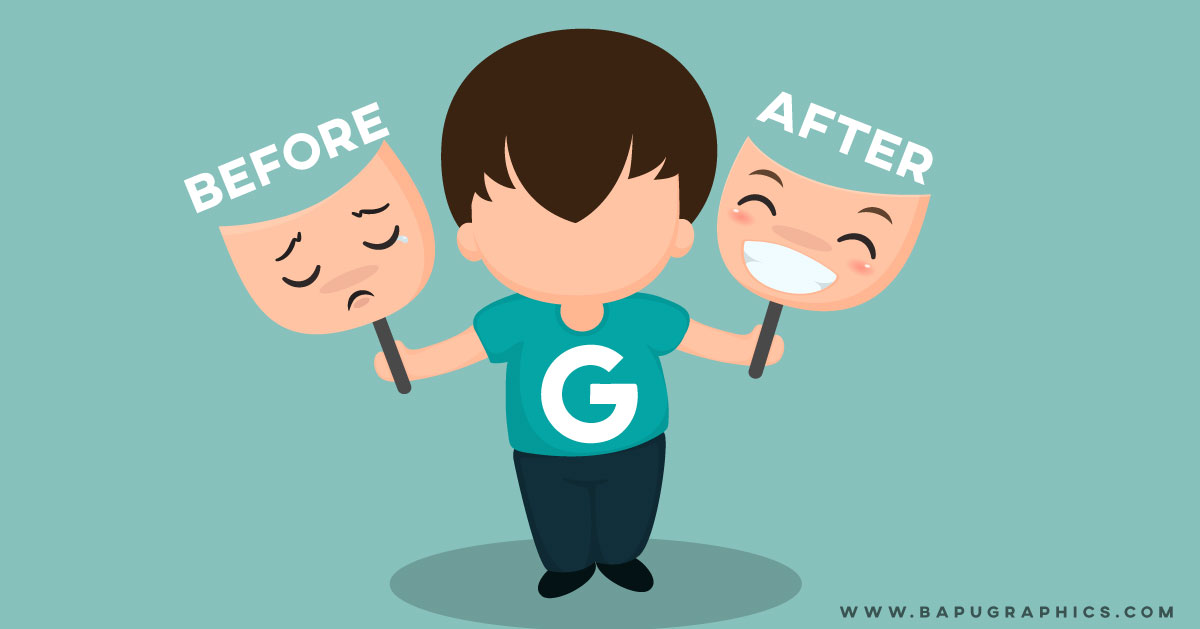 google after and before command