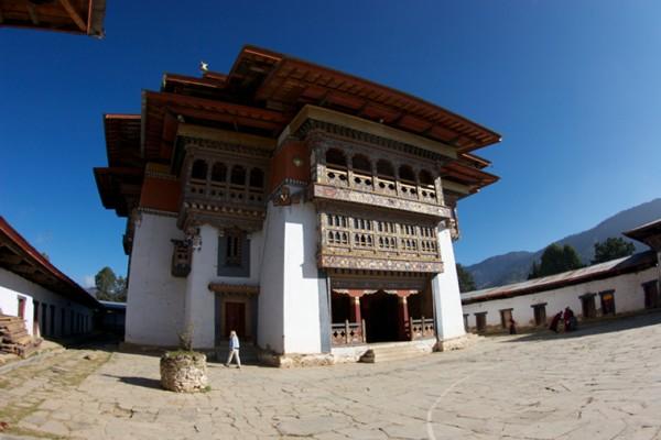 Monastère de Gangtey au Bhoutan - blog Bar à Voyages