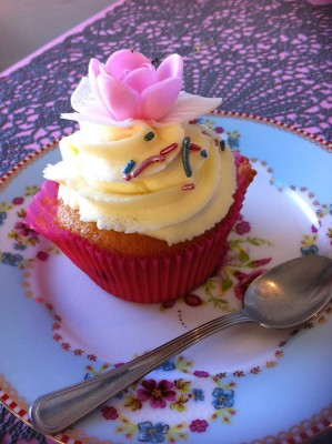 Cupcake de chez Made With Love à Capbreton