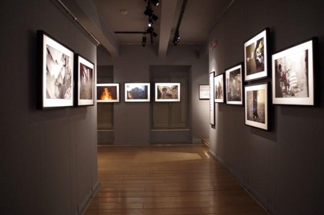 Exposition dans le musée War Photo Limited
