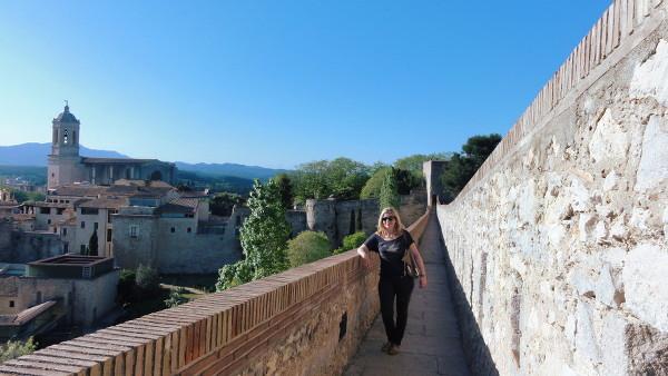 Les remparts à Gérone - blog Bar à Voyages