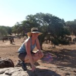 Claire au point d'observation - blog Bar à Voyages