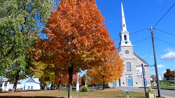 L'église de Saint-Michel - Québec