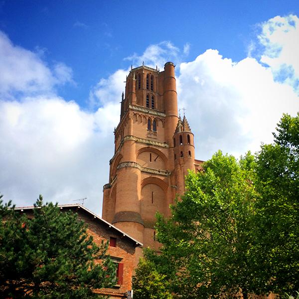 Clocher de la Cathédrale Sainte-Cécile d'Albi