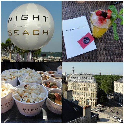 Montage photo du bar Night Beach à Bordeaux