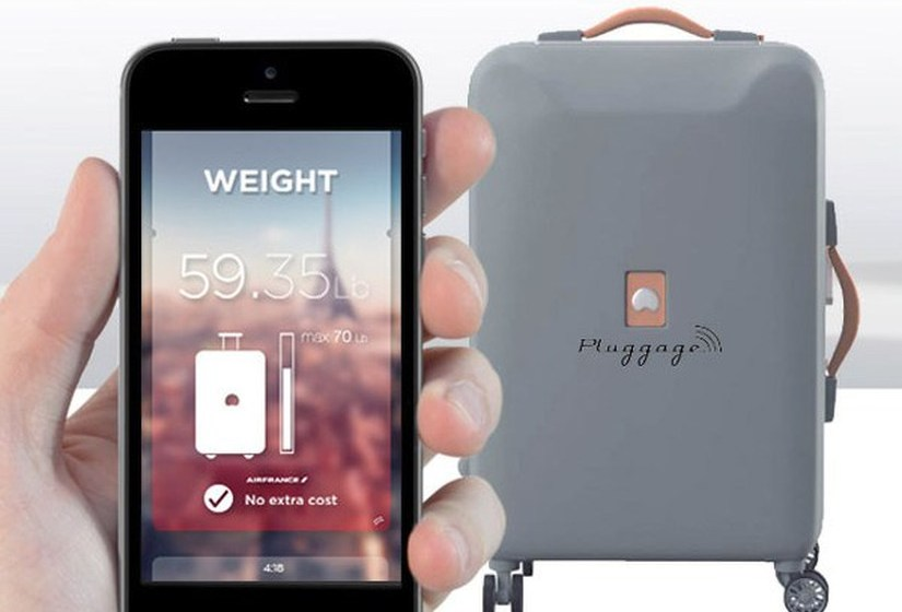 Delsey Pluggage la valise connectee - blog Bar a Voyages