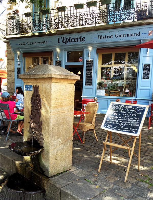 L'Epicerie, bonne adresse pour le déjeuner à Auray ©Magali Renard / Le Bar à Voyages