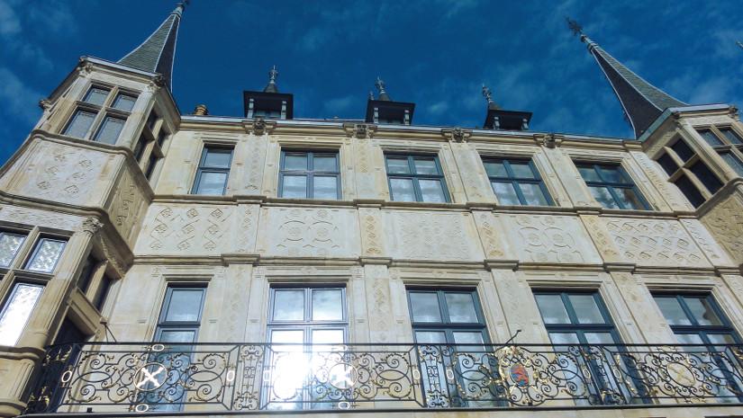 Palais ducal au Luxembourg - blog Bar a Voyages