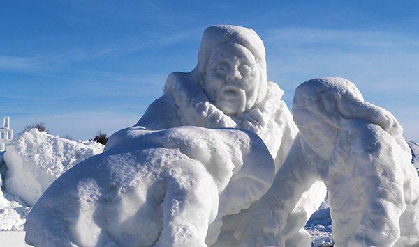 Sculptures de neige ©Franck/Le Bar à Voyages