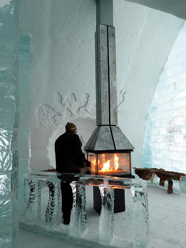 Un hôtel qui ne vous laissera pas de glace... ;-) ©Franck/Le Bar à Voyages