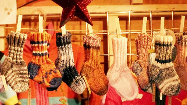 La chaussette de laine, accessoire indispensable pour affronter l'hiver canadien ! ©Franck/Le Bar à Voyages