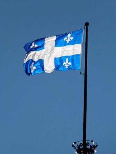 Le drapeau du Québec