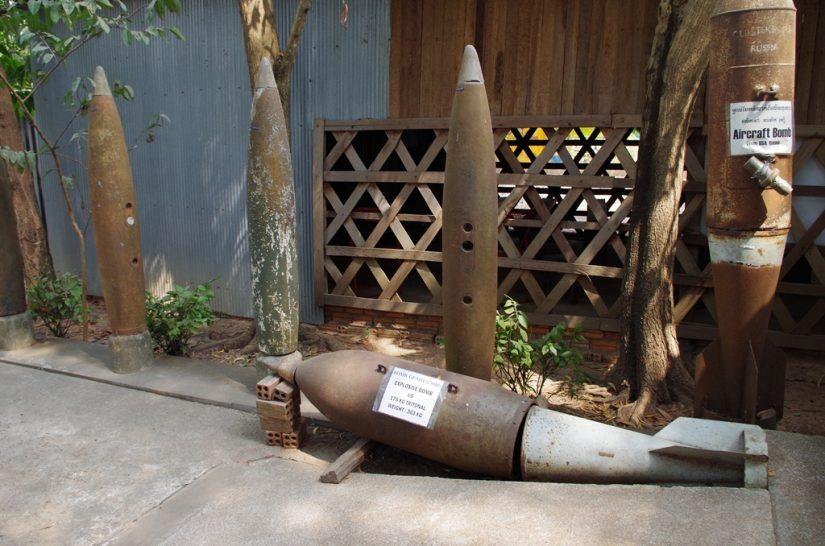 Bombes Musée des mines