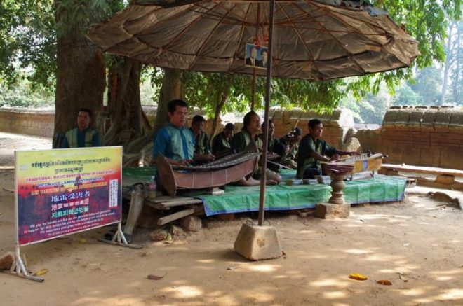 Musiciens aveugles Cambodge