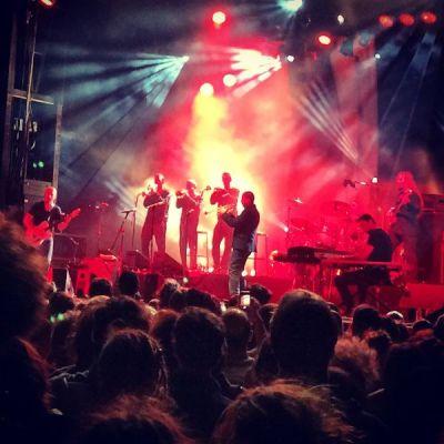 Ibrahim Maalouf lors du festival Musiques Métisses à Angoulême en 2014 ©Le Bar à Voyages/Magali Renard