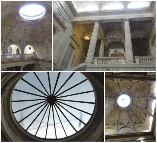 Montage photos du dôme du Grand Théâtre de Bordeaux