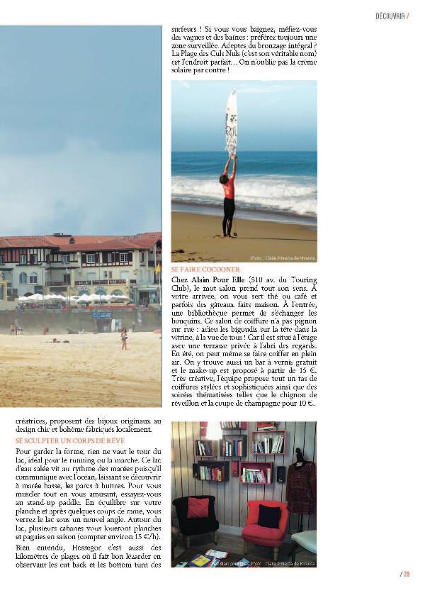 page 2 article Hossegor magazine Ma Ville à Moi 35