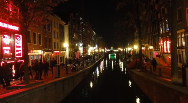 quartier rouge Amsterdam - blog Bar à Voyages