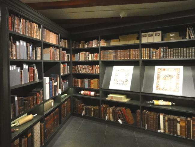bibliothèque de la synagogue - blog Bar à Voyages